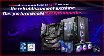 MSI - Z490 Steam Vouchers 2020